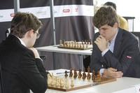 Hammer-Carlsen i Norway Chess runde 7